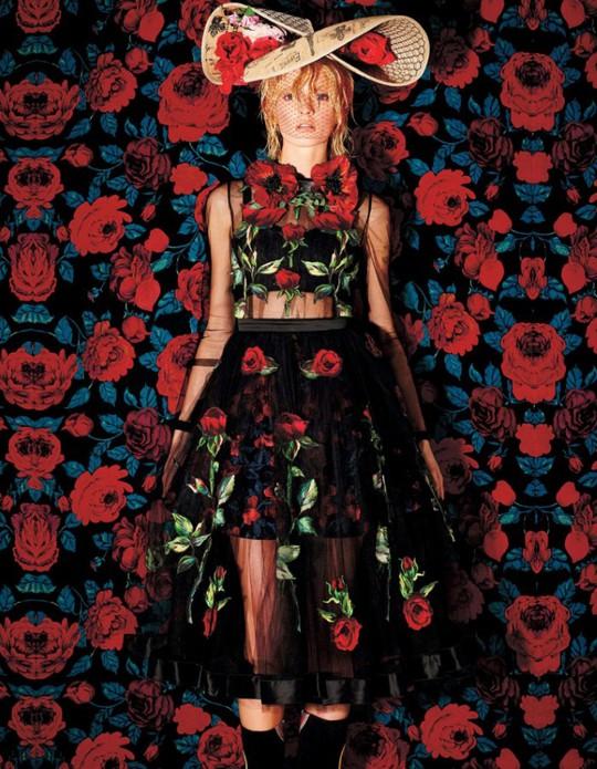 Дар'я Строкоус для Harper's Bazaar Japan