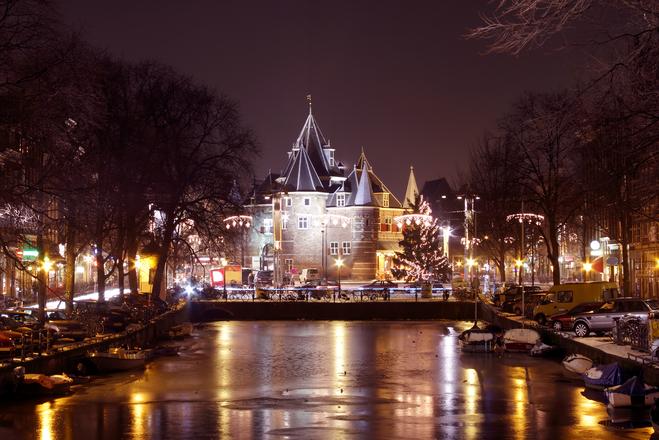 Де відсвяткувати Новий рік в Європі. Амстердам. Нідерланди