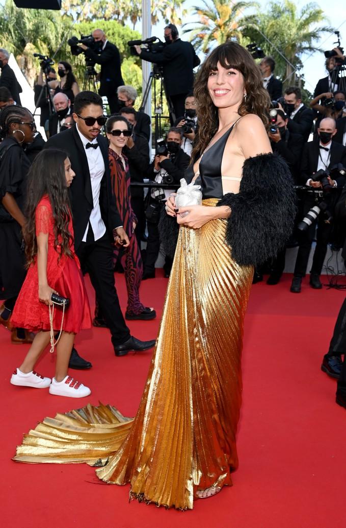 Лу Дуайон на Каннському кінофестивалі 2021