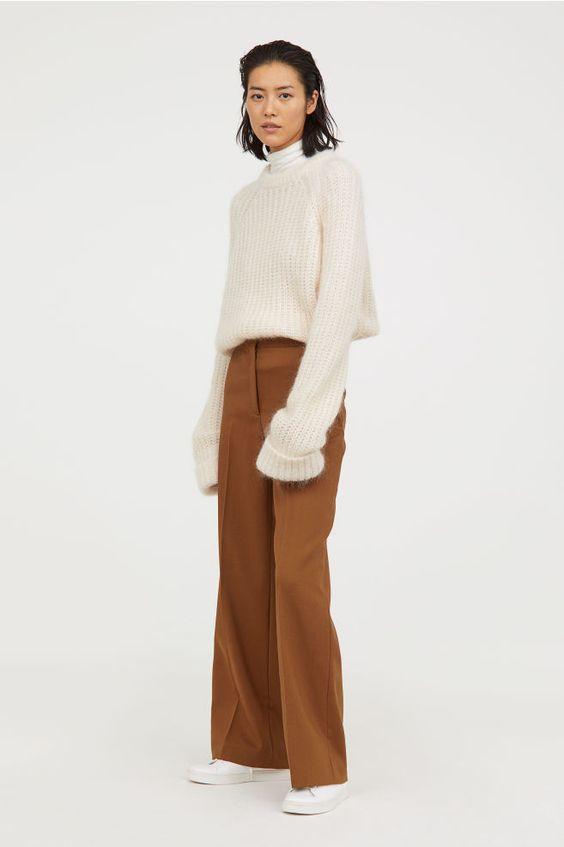 Модные брюки на зиму 2020