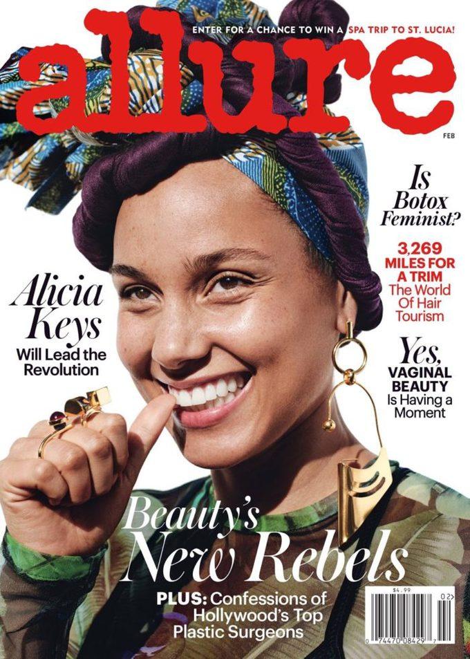 Боротьба за природність: Аліша Кіс на обкладинці глянцю без макіяжу