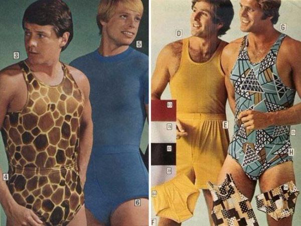 Мужественная мода прошлого века