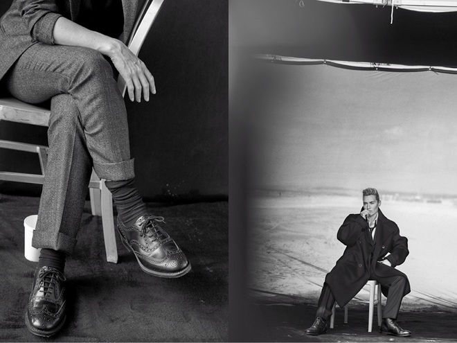Кейт Уінслет в L'Uomo Vogue