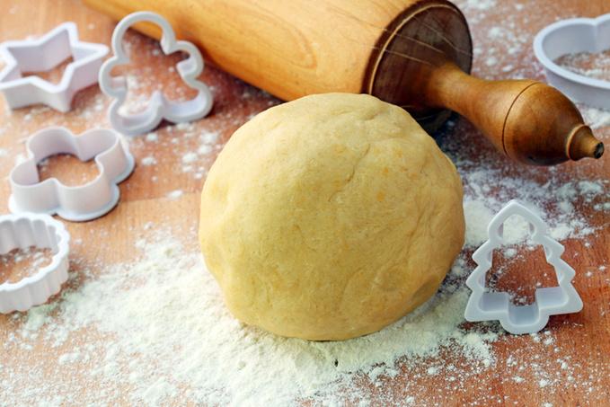 Пісочне тісто, рецепт, борошно, яйця, приготування