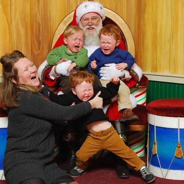 Все в восторге от Деда Мороза