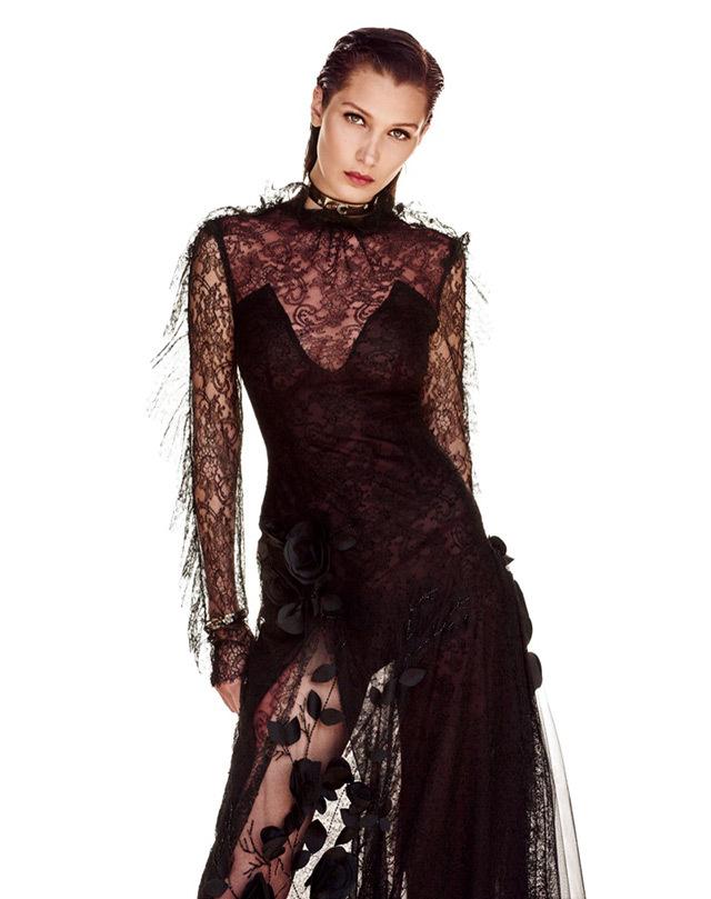 Белла Хадид в фотосессии для Vogue Japan