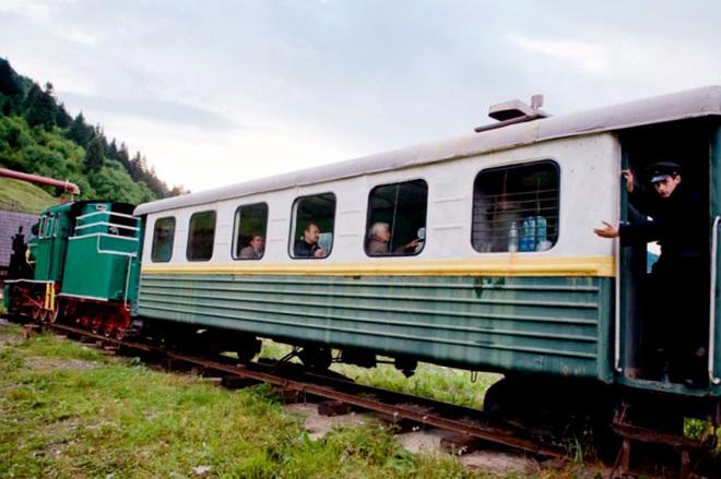 Колочавская узкоколейка в Закарпатской области: вперед в прошлое