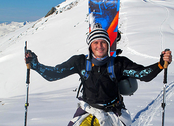 Олександр Педан в горах