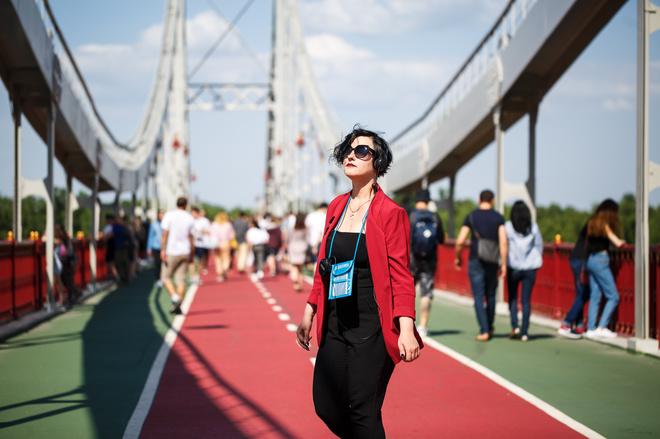 """Поліна Бараниченко: """"Ми прагнули дозволити глядачеві відчути себе під час вистави живим"""""""