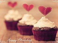Романтическая открытка на день рождения