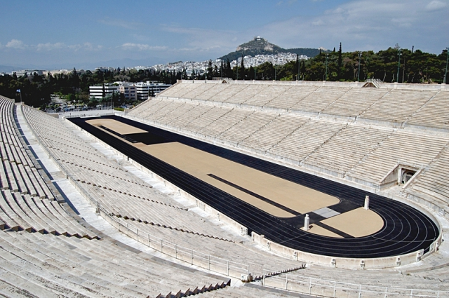 Цікаві місця Афін: Панафінейський стадіон