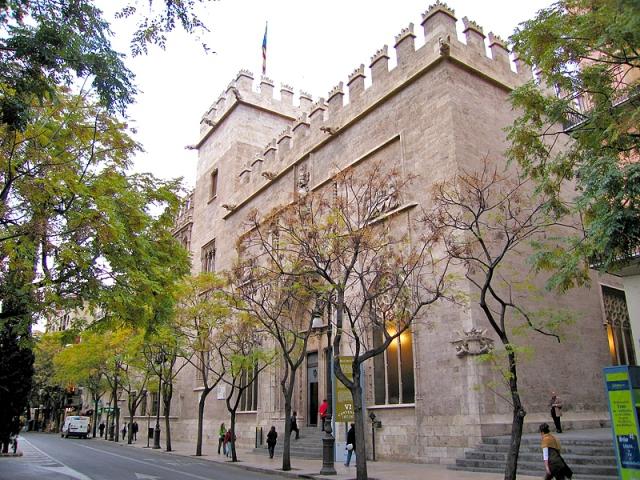 Достопримечательности Валенсии: шелковая биржа