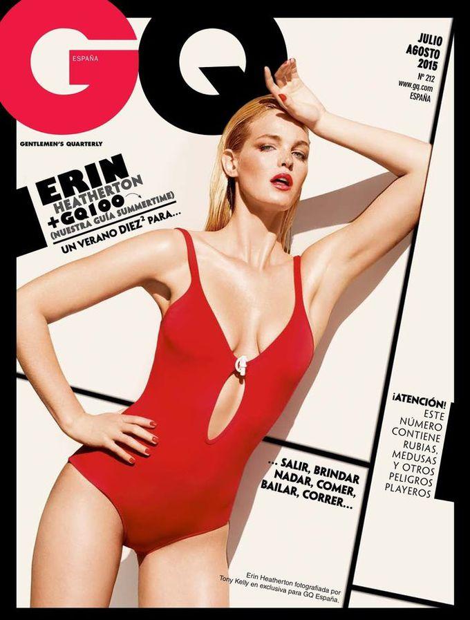 Одна на троих: Эрин Хизертон в GQ Spain