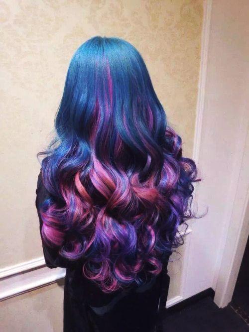 Колір волосся у відтінку дорогоцінних каменів