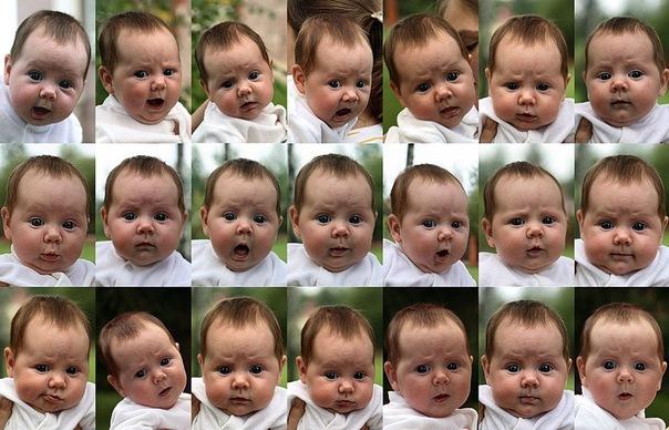 Эмоции малыша