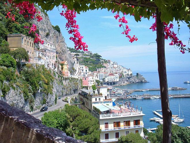 Honeymoon в Італії: Амальфійское узбережжі
