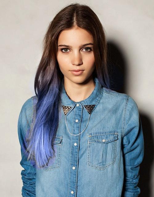 волосы цвета любимых джинсов