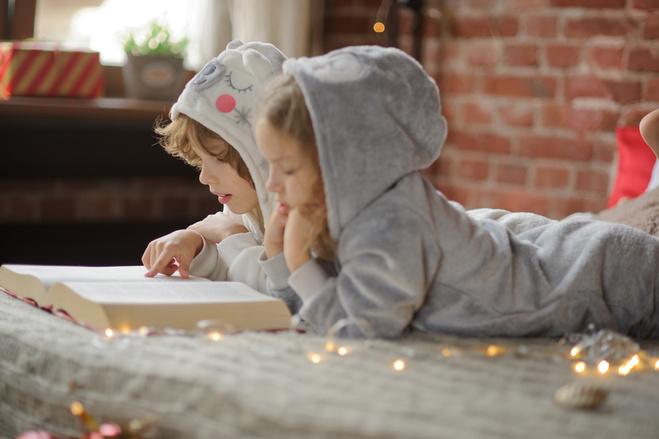 дети на Новый год