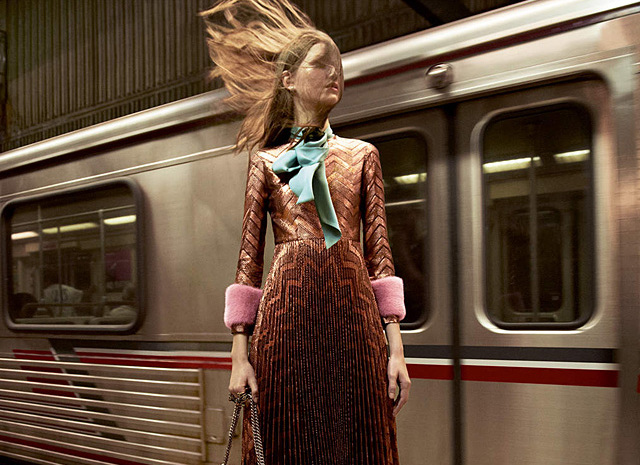 Gucci рекламная кампания