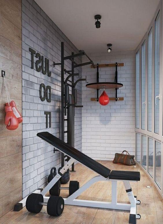 Спортзал на балконі