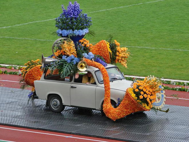 парад цветов Алсмер, Нидерланды