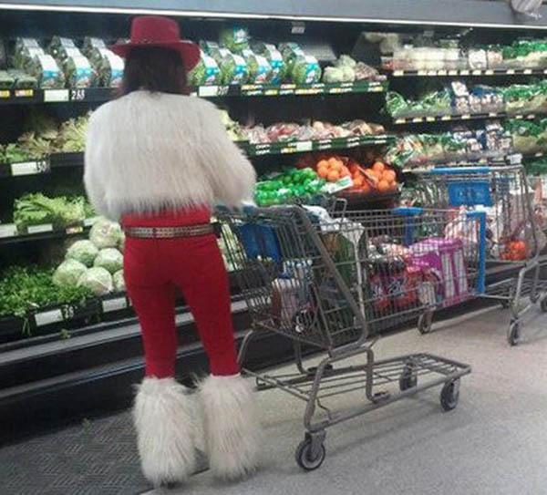 Фото, сделанные в американских супермаркетах сети Walmart