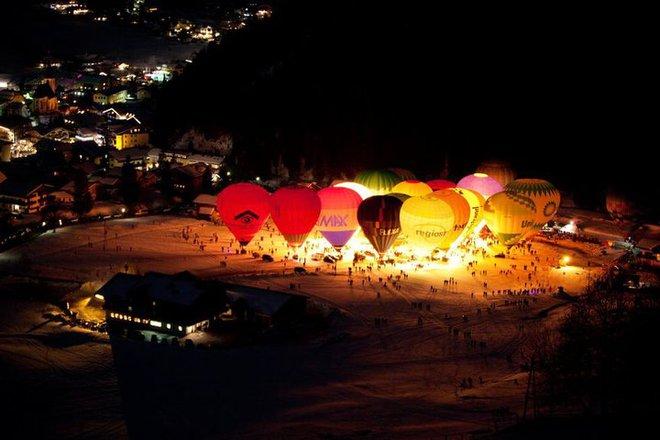 Фестивали января: фестиваль воздушных шаров в Фильцмосе