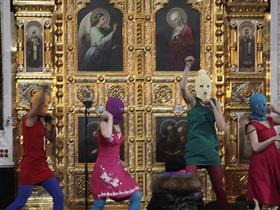 Pussy Riot фото клип богородица