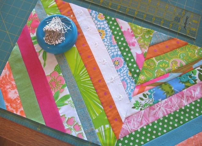 Пэчворк: рисуй ножницами по ткани