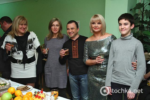 Новогодний концерт, дворец Украина, закулисье