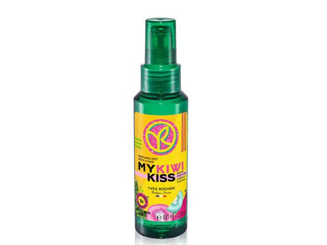 Парфюмированный спрей для тела и волос Киви — Имбирь Yves Rocher