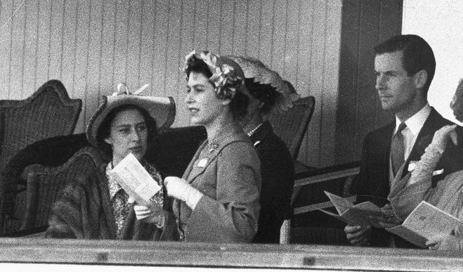 Принцесса Маргарет и Питер Таунсенд