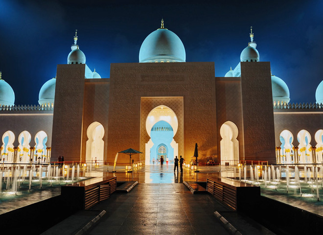 Дивний схід: казкова мечеть шейха Заїда в ОАЕ