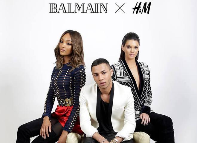 Balmain и H&M