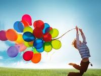 Охапка воздушных шариков