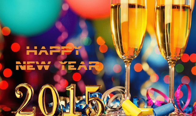 Счастливого нового года 2015