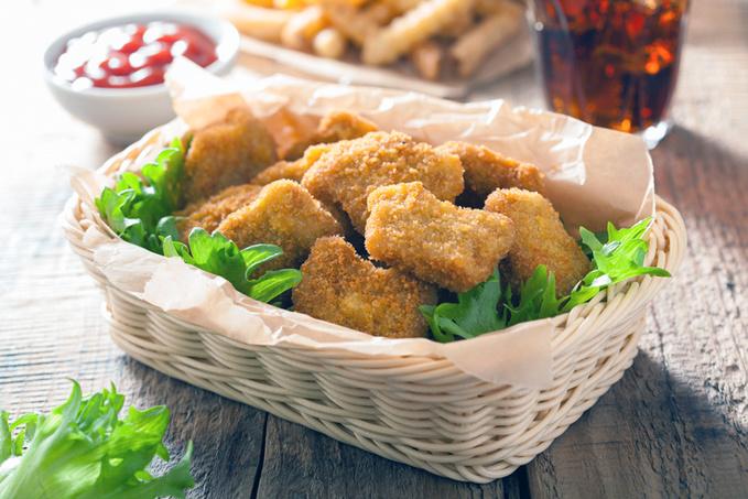 Куриная грудка рецепты, курятина, панировочніе сухари, масло
