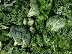 Весняні зелені салати