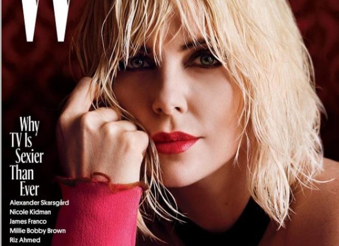 Шарліз Терон для W magazine