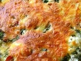 Запеканка из капусты брокколи
