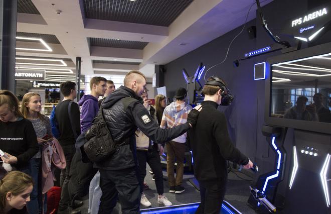 Відкриття парку віртуальної реальності VRtuality