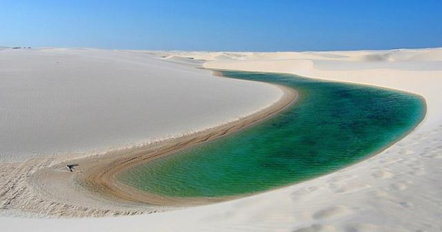 Самые необычные пустыни: пустыня Ленсойс-Мараньенсес, Бразилия