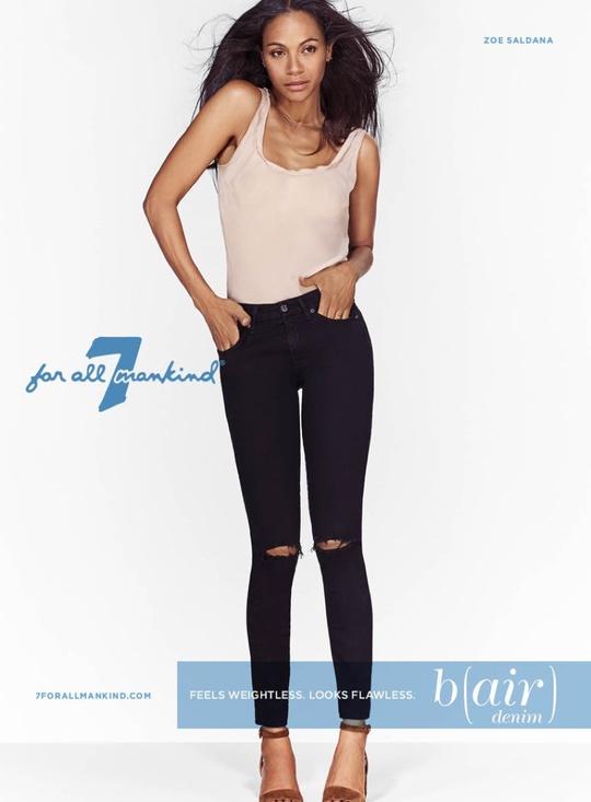 Зої Салдана представила джинси на осінь 2016 (фото)