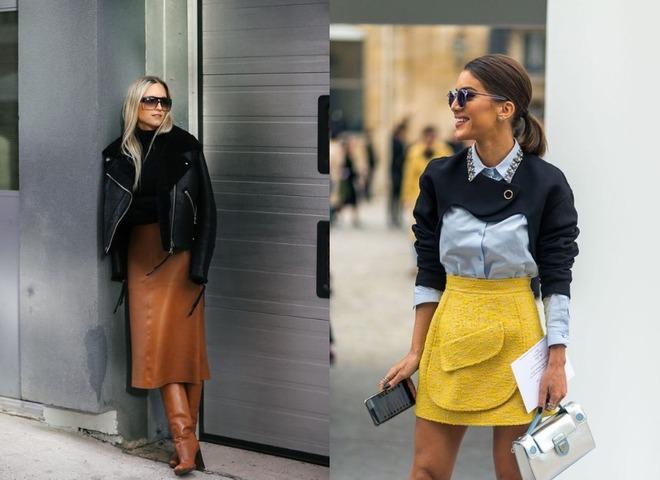 Модные юбки осень-зима 2020/21