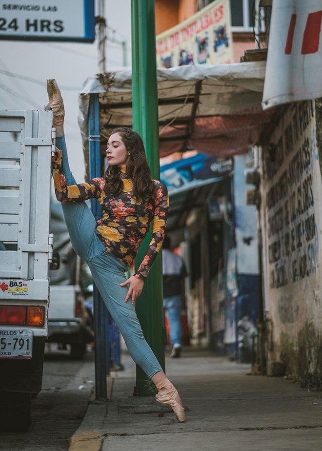 Танцоры на улицах Мексики и Кубы