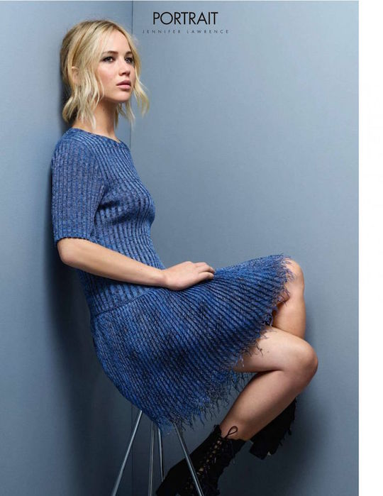 Дженнифер Лоуренс для Elle France