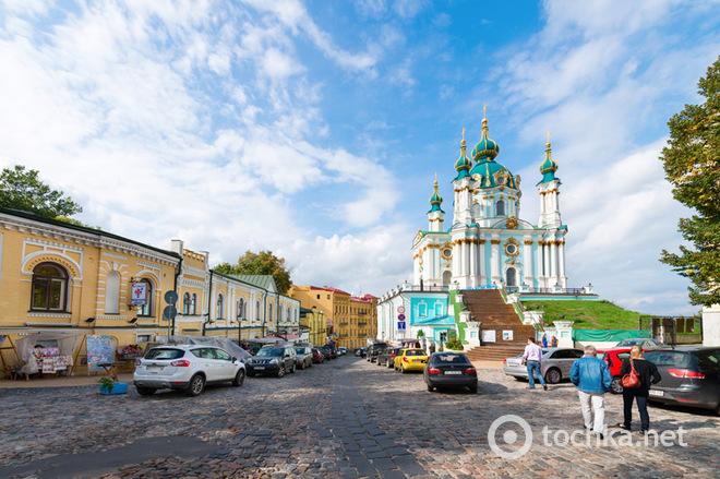 Що ми знаємо про визначні пам'ятки Києва: Андріївська церква