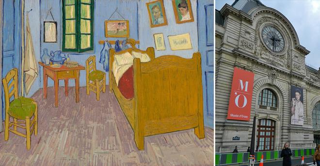 Арт-туризм: Спальня Ван Гога в Арлі - Музей Орсе