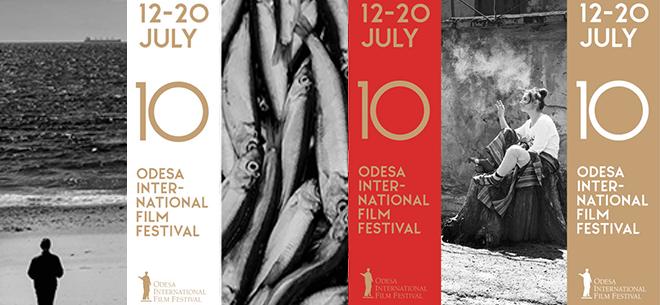 ОМКФ-2019: ювілейний 10-й Одеський міжнародний кінофестиваль презентує офіційний імідж