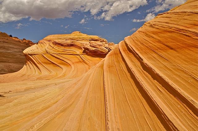 На земле, как на другой планете: Волна, Аризона